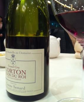 Corton Clos du Roi Grand Cru Comte Senard 2003