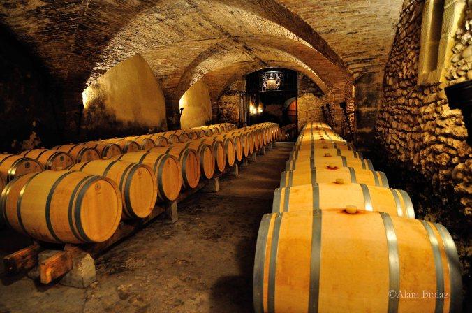 cave vin dégustation chateauneuf du pape